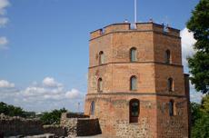 Вильнюс, башня Гедымина