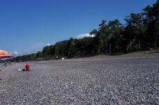 Пляж в Кобулети