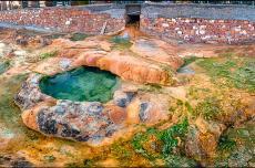 Термальные источники,курорт Эдипсос