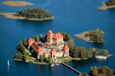 Литва, Вильнюс, Тракай, Тракайский замок