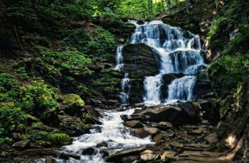 тур во львов, водопад в карпатах